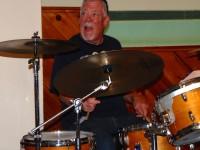 Scott Biscuit Hazen playing drums